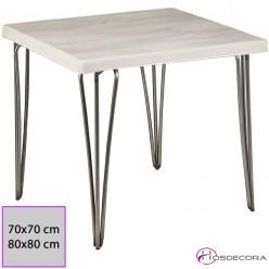 Mesa cuadrada tablero SM - ESTADA