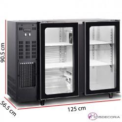 Frigobares desde 2 puertas cristal FG2C+