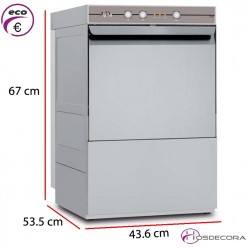Lavavasos para bar 35x35- Altura útil 29 cm. 63-AMDH 3390