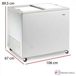Arcón congelador ICE - desde 83 hasta 150 cm ancho