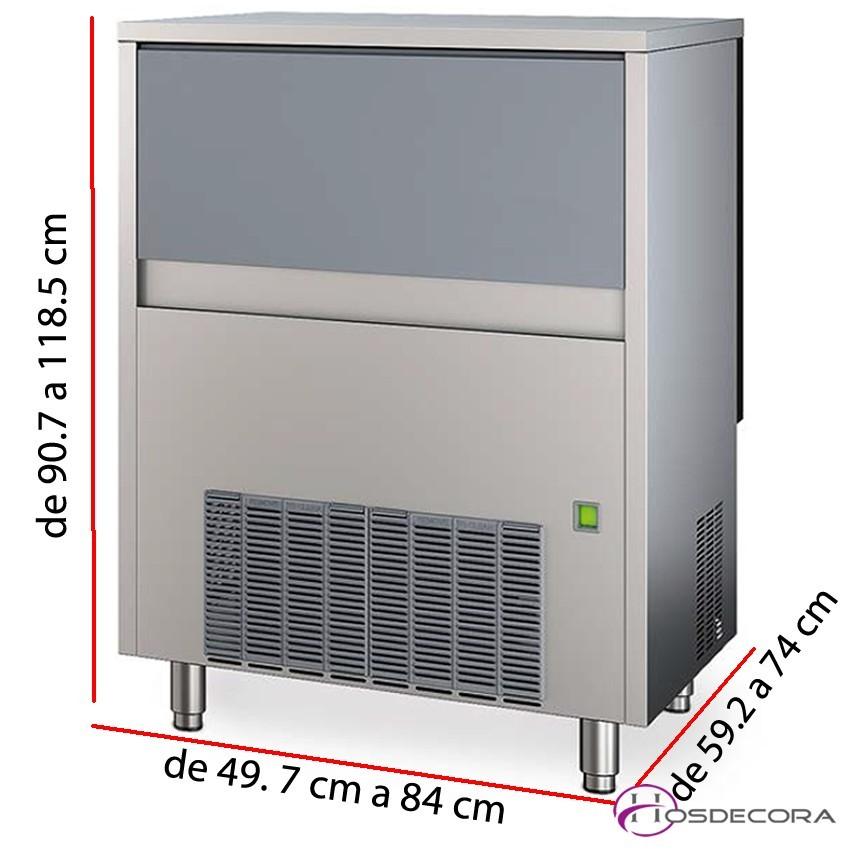 Fabricador de hielo CG 41 gr - 25 Kg.