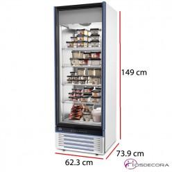 Expositor refrigerado 258 Litros Glee 45 Lite R-290