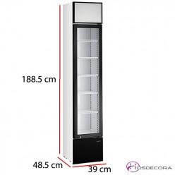 Nevera alta refrigerada 39x49 cm 150 Litros