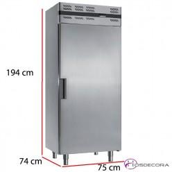 Nevera de acero inox 500 Litros 350W ARTIK 6