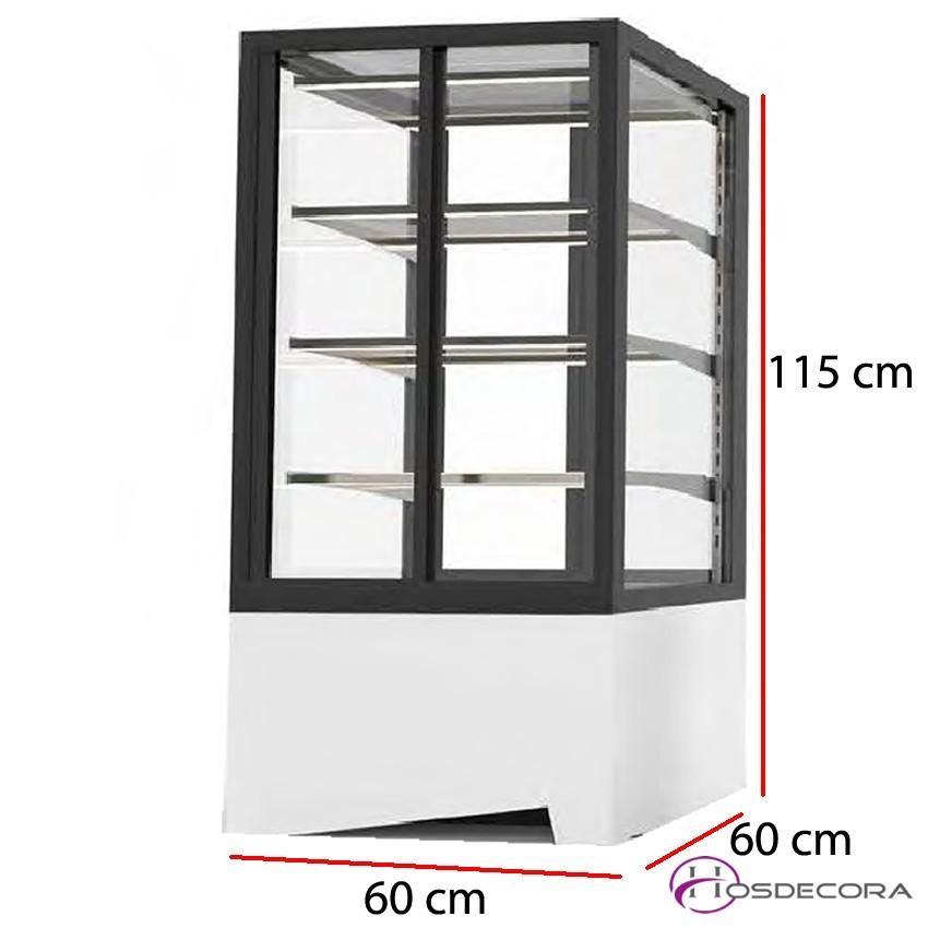 Vitrina expositora Acceso frontal o trasero 3 estantes