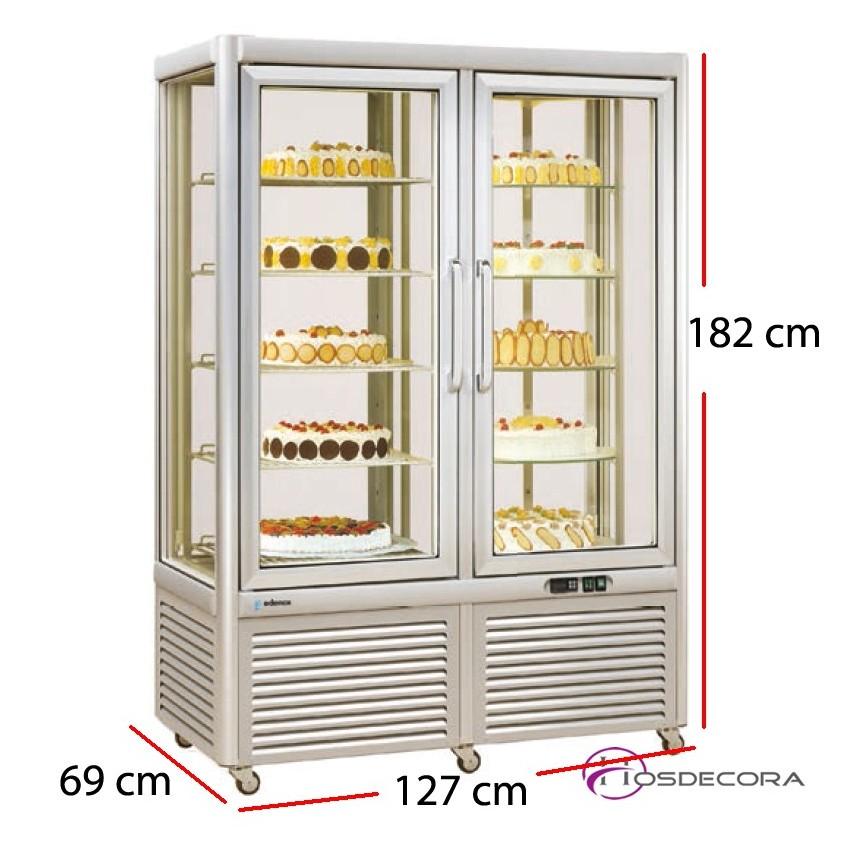 Expositor de congelación VECS0-800 800 Litros