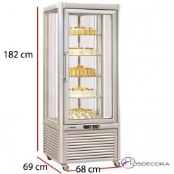 Expositor de congelación VECSO-400 400 Litros