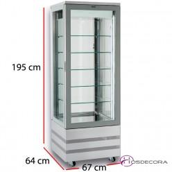 Expositor de congelación EVO 670