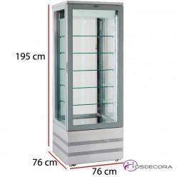 Expositor mixto refrigeración y congelación EVO 5400
