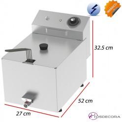 Freidora eléctrica de sobremesa 10 Litros - 6 KW