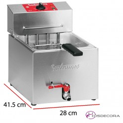 Freidora Bar Encastrable Potente 7 L. 3.6 Kw  - TF7