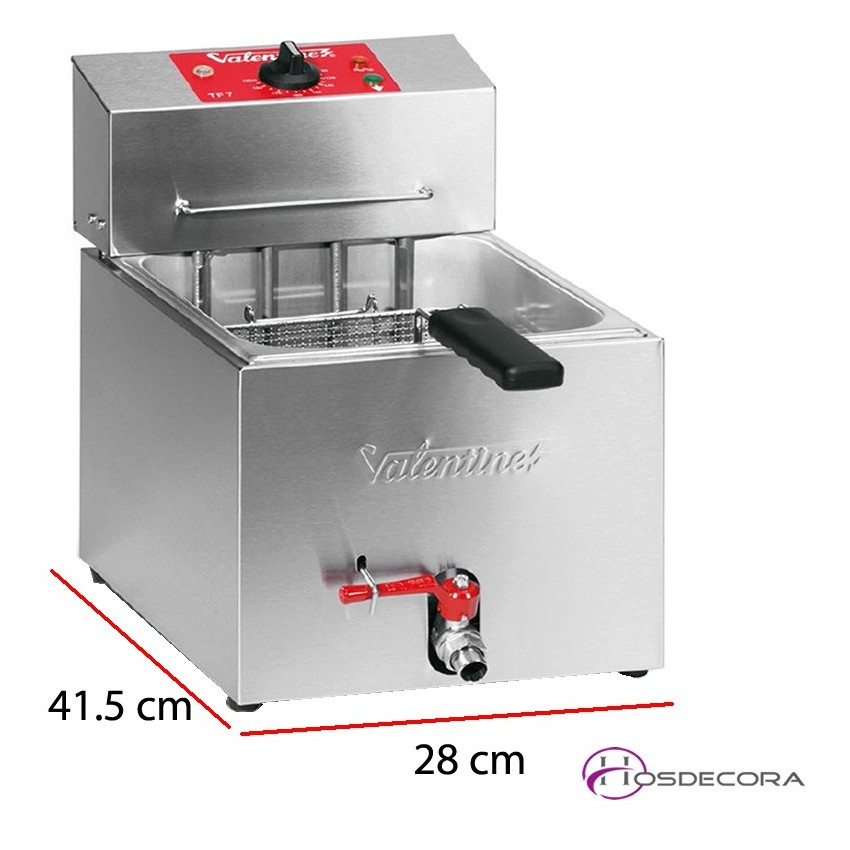 Freidora Bar Encastrable Potente 7 L. 3.6 Kw  - TF7
