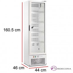Armario refrigerado 115 Litros puerta cristal