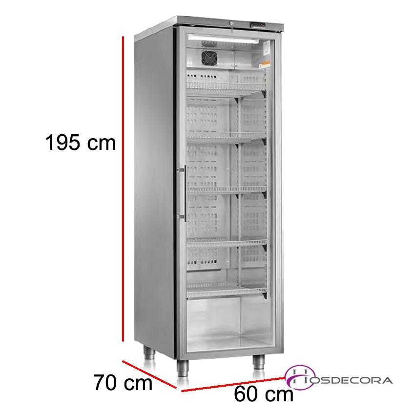 Armario refrigerado 406 Litros puerta corredera A3MCP