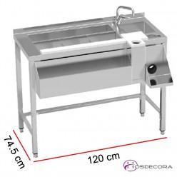 Mesa de coctelería con grifo MBCN-120
