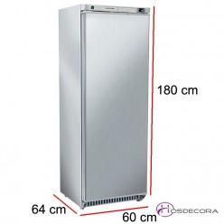 Congelador de pie en acero inox RNX 400