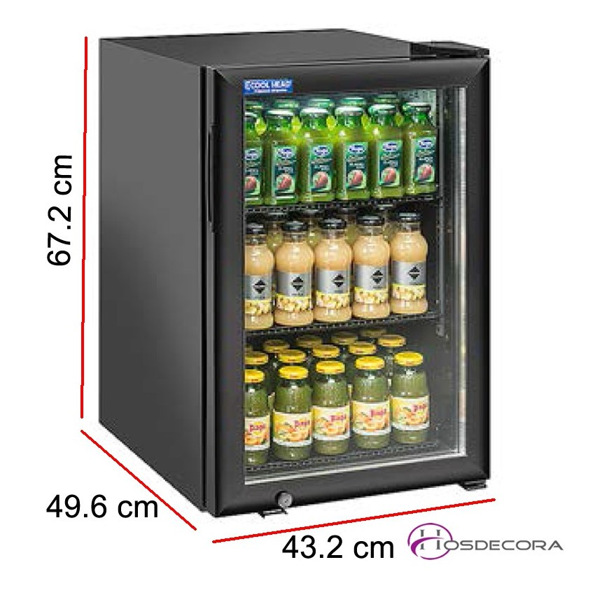 Armario expositor de frío con puerta cristal RC 60