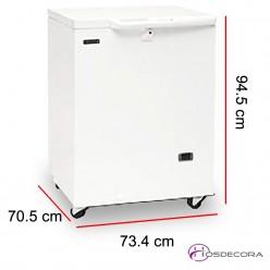 Congelador horizontal 152 Litros 180 W