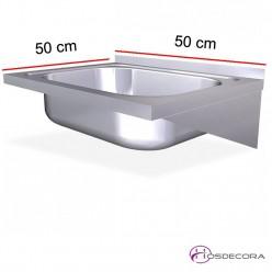 Fregadero ECO de Fondo 50 con 1 cubeta
