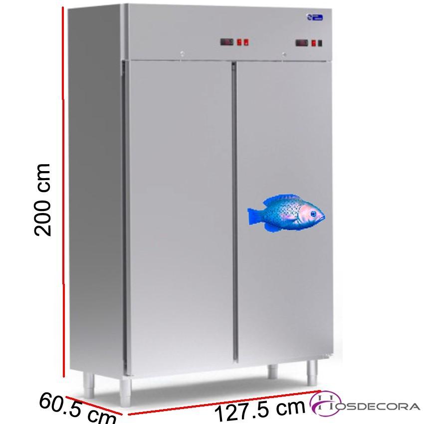 Armario refrigerado para pescado 680 L - 830 W - 127.5 x 60.5
