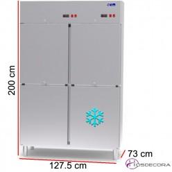 Armario de congelación 610 L - 1025 W - 127.5 x 60.5 cm