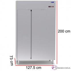 Armario refrigerado 950 L - 625 W - 127.5 x 73 cm