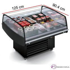 Vitrina isla refrigerada Fondo 120 - Ventilada