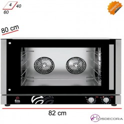 Horno Panadería 82x80- 3900 W- RXL 603