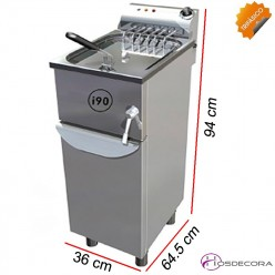 Freidora de Agua-Aceite Trifásica 10L.  6 Kw. 107307