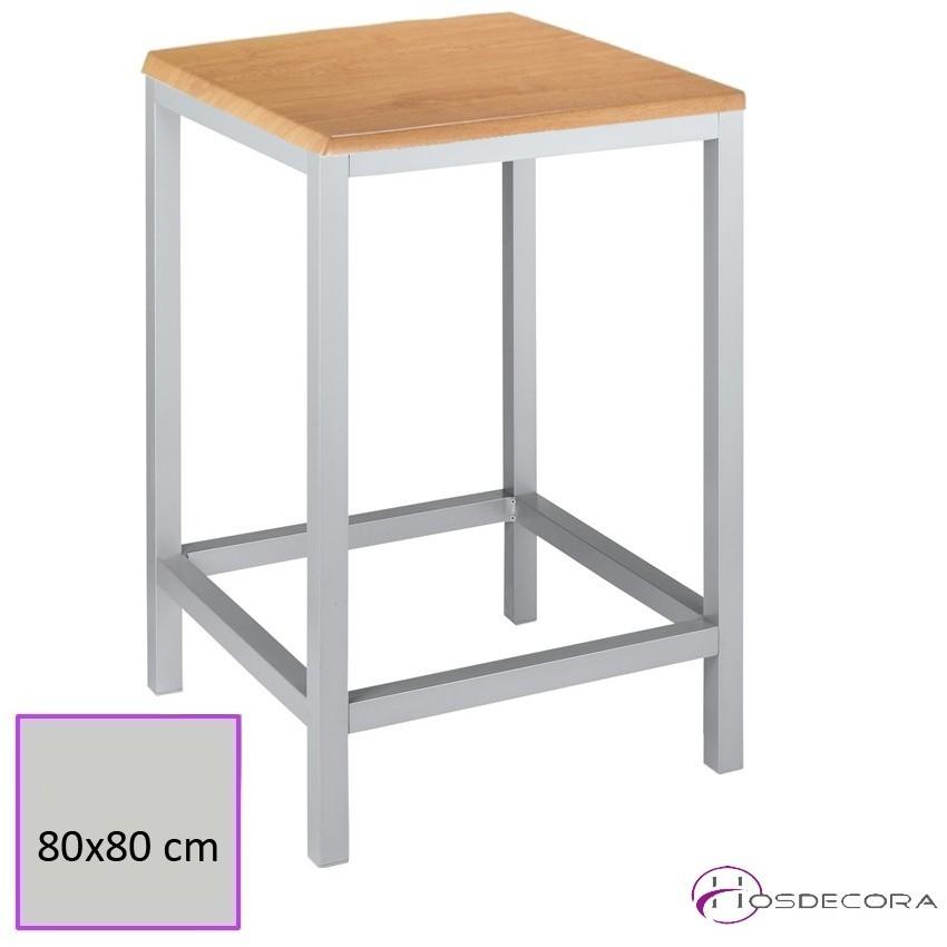 Mesas para taburetes con tablero cuadrado HORRA