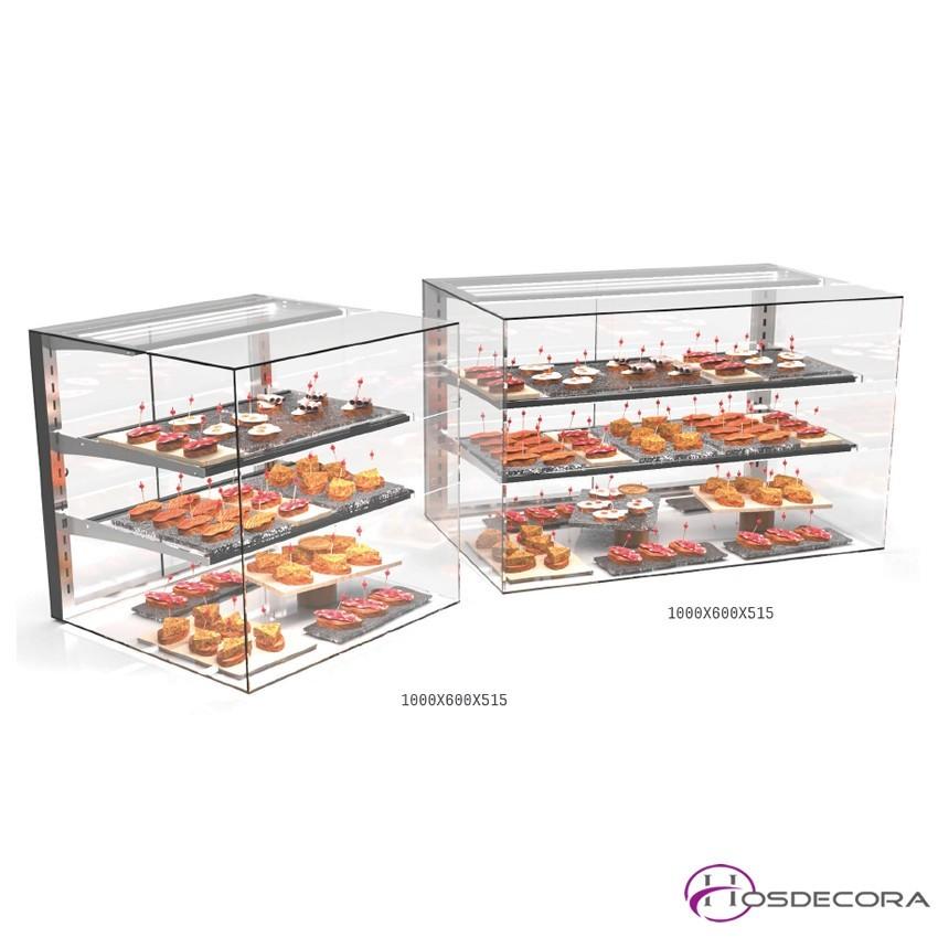 Vitrina neutra Puertas de cristal desde 60 a 100 cm