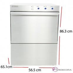 Lavavajillas de bar 40x40- Altura útil 30 cm. 47-ST400