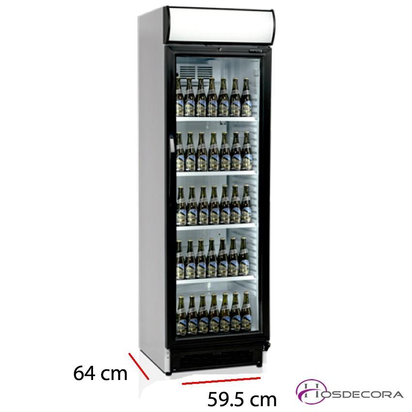 Armario frio para bebidas 295 W - 372 L 47-CVE425 Black