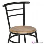 Silla para bar asiento SM -Canfranc