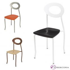Silla para bar asiento madera - ONTIGOLA