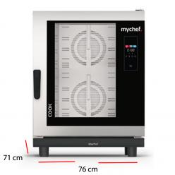Horno para colectividades MyChef 10 bandejas GN 1/1