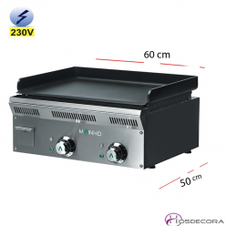 Plancha Electrica Pavonada 60x50 cm. 8mm -ELP-62EM