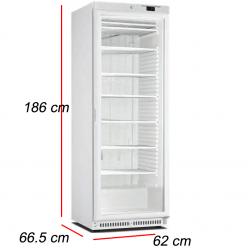 Congelador Puerta Cristal 340L- 400 W. A4BCN
