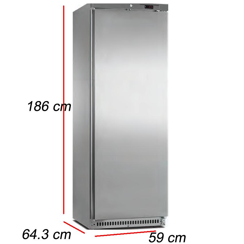 Armario Puerta Inox 340L- 280 W. A4MOP