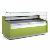 Vitrina exposición refrigerada para tiendas de pastelería,