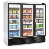 Expositor con puertas refrigerado para supermercado