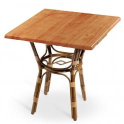 Mesa para Terraza Alia con armazón de aluminio