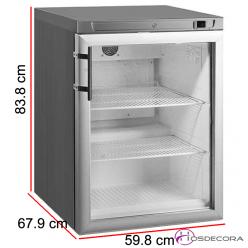 Congelador expositor 86-CNXG2