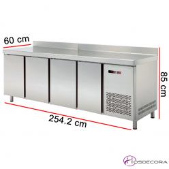 Mesa refrigerada de cocina con 4 módulos 47-MRCH250