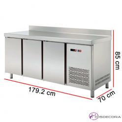 Mesa de refrigeración GN 1/1 de 179.2 x 70 cm 47-TRCH180