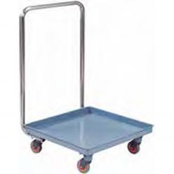 Carro para transportar cestas de lavavajillas.