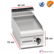 Fritop Eléctrico de asar Acero 4.8 KW- 15 mm.