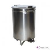 Contenedor desperdicios 60 litros con pedal 60x40 -486006