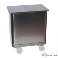 Contenedor Inox de Panaderías 115 litros 72.5 x 39.5 cm -486008