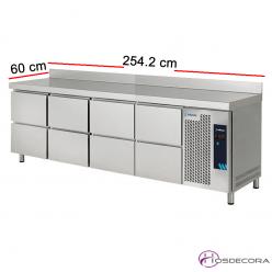 Mesa refrigerada compacta de 8 cajones 50-19059829